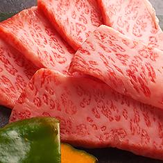 お肉は厳選した国産牛